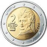 2 euro (other side, country Austria) 2