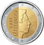 2 euro (other side, country Luxemburg) 2